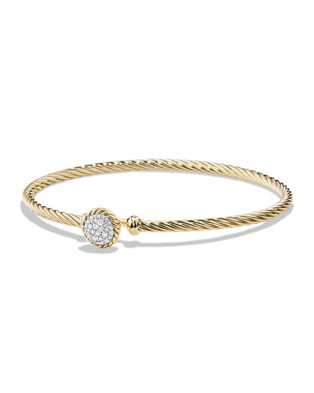 David Yurman Chatelaine Bracelet with Diamonds in 18k