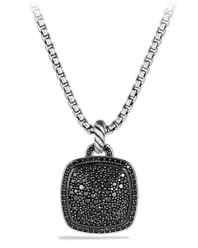 Albion Pendant with Black Diamonds, 17mm