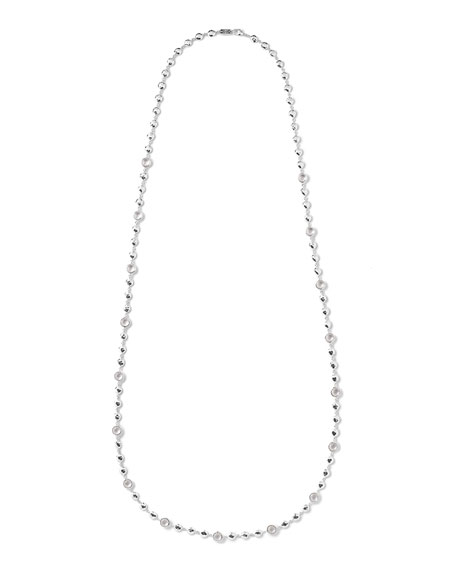 Ippolita Silver Rock Candy Multi-Stone Necklace in Clear