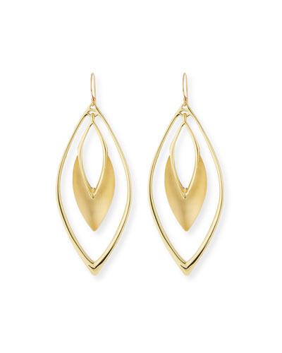 Lucite Orbital Drop Earrings