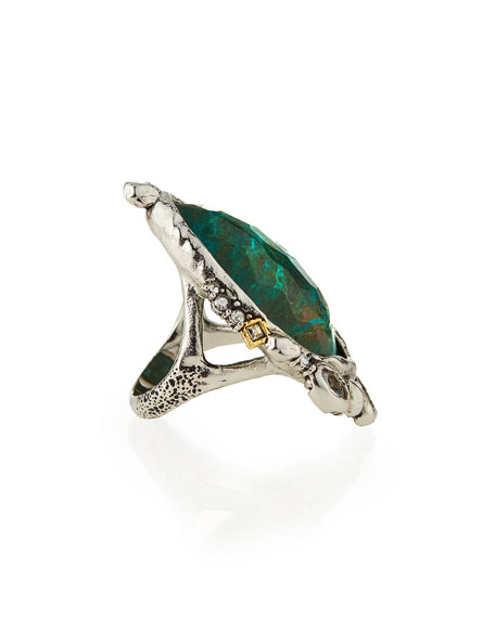 FANCY STONE COCKTAIL RING