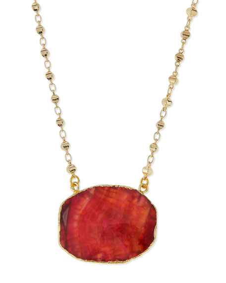 PINK GOLD WRAP STONE SHORT P