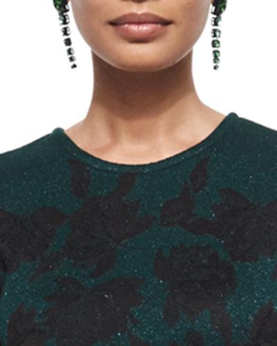 Graduated Crystal Drop Earrings