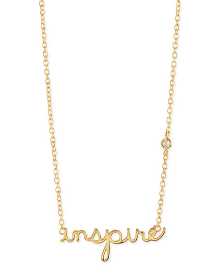 SHY by SE Inspire Bezel Diamond Necklace