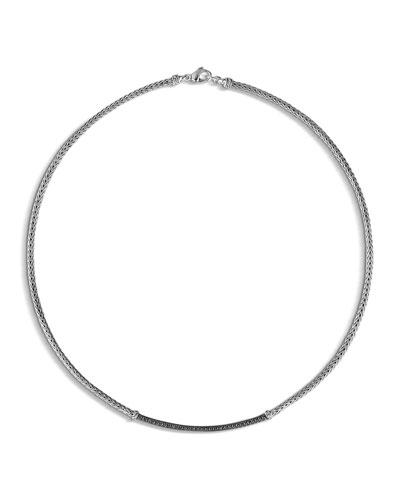 Classic Chain Lava Station Mini Chain Necklace