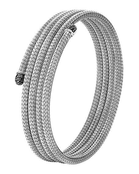 Classic Chain Small Lava Coil Bracelet, Size M