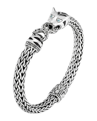 Classic Chain Silver Medium Macan Bracelet