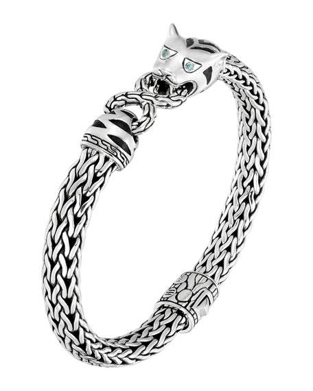 John Hardy Classic Chain Silver Medium Macan Bracelet