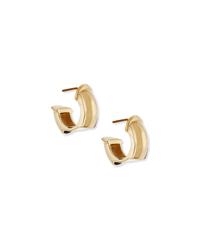 Charlotte Gold-Plated Earrings