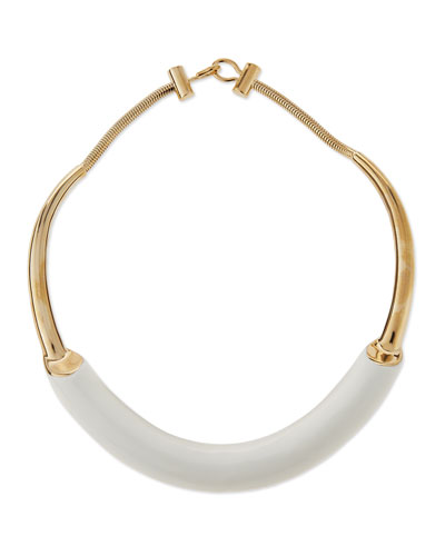 Lauren Enamel Collar Necklace