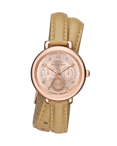 38mm Kohen Double-Wrap Watch