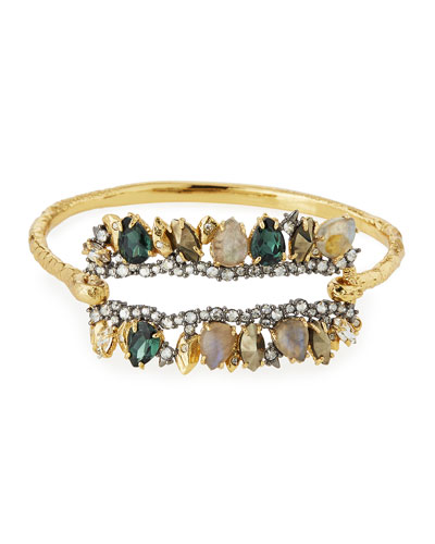 Elements Fancy I.D. Hinge Bangle Bracelet