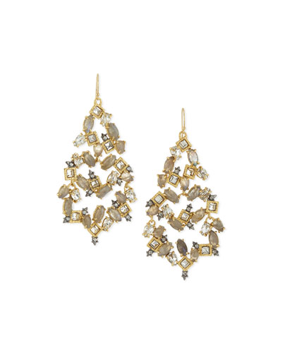 Elements Confetti Chandelier Earrings