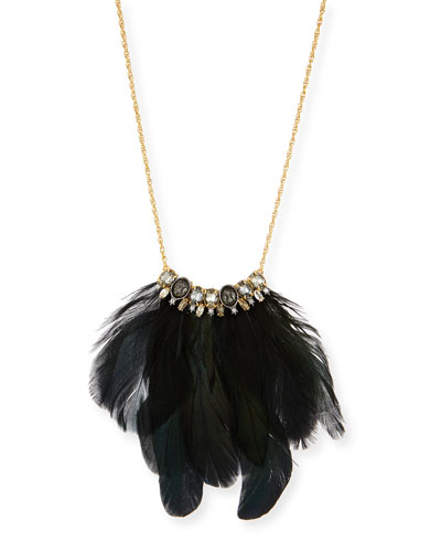Elements Small Feather Necklace
