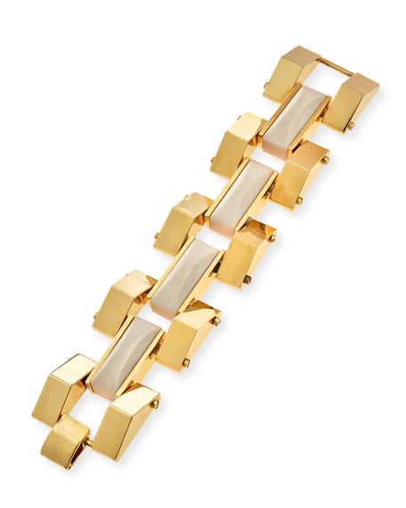 Sandbar Howlite Link Bracelet