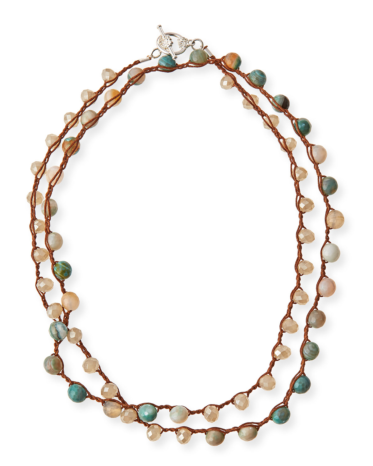 An Old Soul Jewelry Amazonite Crystal Long Necklace 36 Neiman Marcus