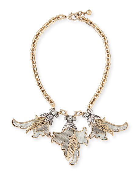 Lulu Frost Nightshade Crystal Statement Necklace