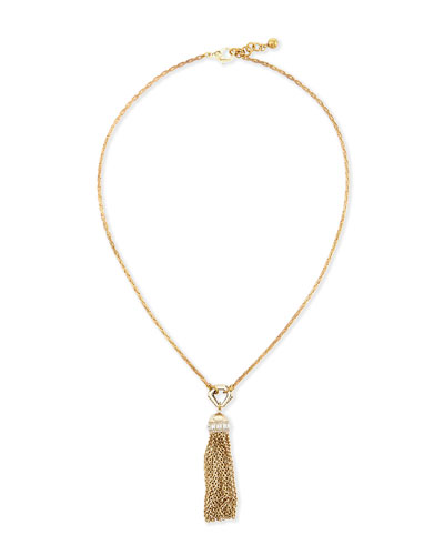 Narcissus Long Tassel Necklace