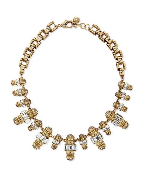 Lulu FrostPhantom Crystal Statement Necklace