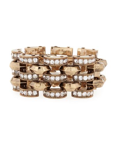 Veratrum Crystal Link Bracelet