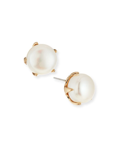 Cultured Freshwater Pearl Stud Earrings