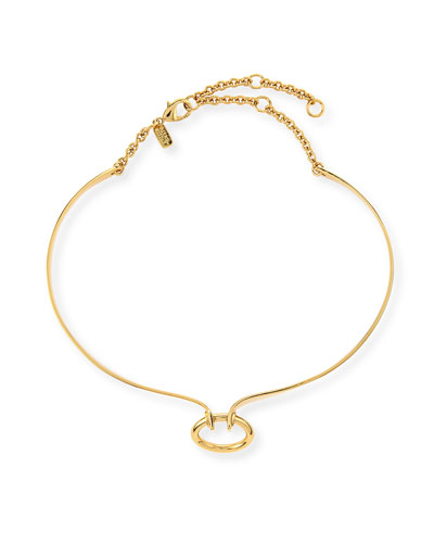 "Miss Havisham ""O"" Collar Necklace"