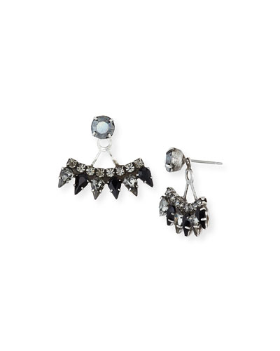Betson Crystal Jacket Earrings