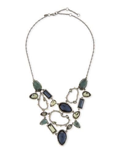 Elements Confetti Link Bib Necklace
