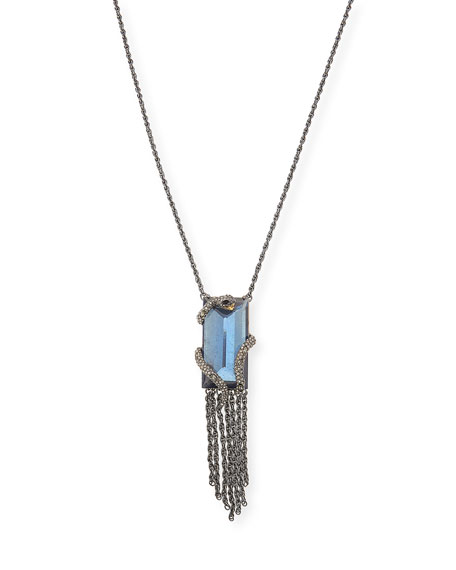 Elements Serpent Necklace with Fringe