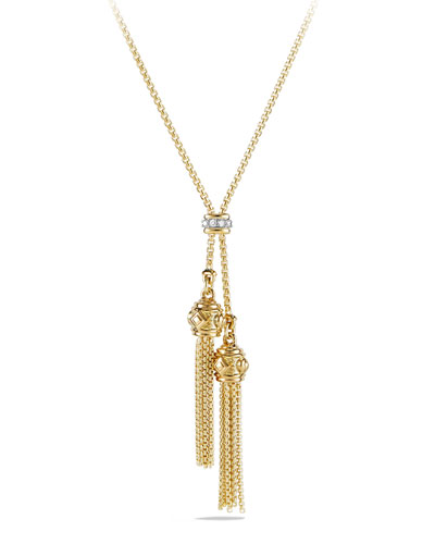 David Yurman Petite Renaissance 18K Gold Necklace