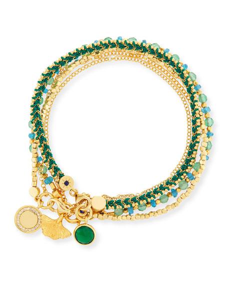 Astley Clarke Earthly Inspirations Charm Bracelets, Set of