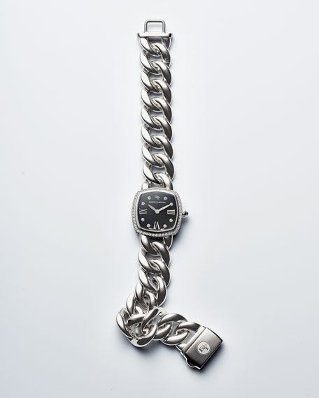 Albion 23mm Stainless Steel Curb Chain Watch