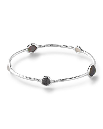 Rock Candy® 5-Station Black Tie Bangle