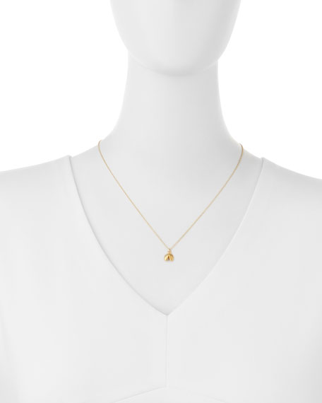 "Gold-Dipped ""Good Fortune"" Necklace"