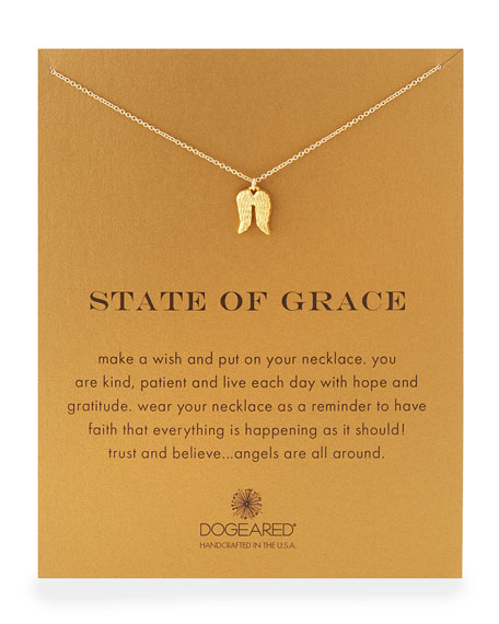 """Gold-Dipped """"State of Grace"""" Necklace"""