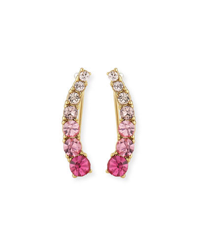 sparklers crystal crawler earrings