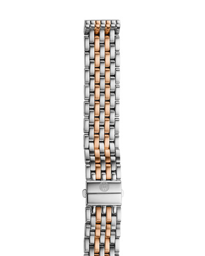 16mm Deco Seven Link Bracelet Strap, Two-Tone