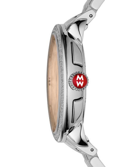 18mm Serein Diamond Mother-of-Pearl Watch Head