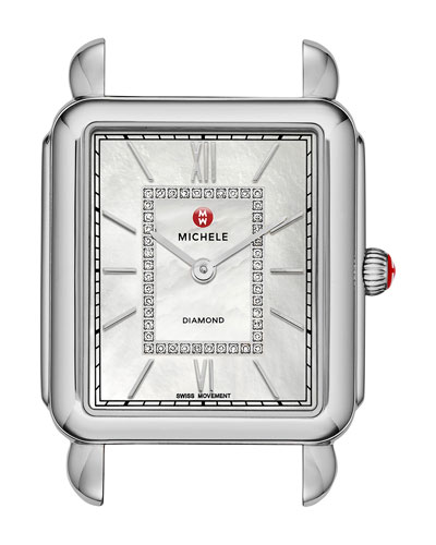 18mm Deco Diamond Watch Head