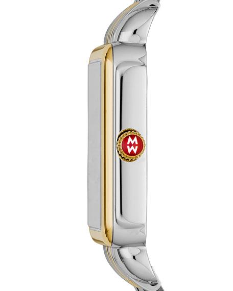 18mm Deco Diamond Watch Head, Two-Tone