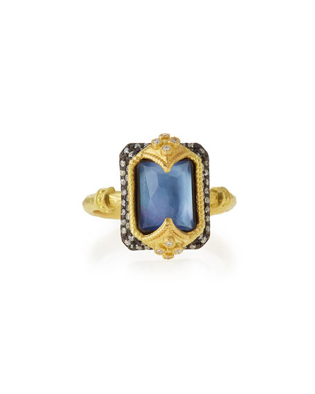 ArmentaOld World Dulcinea Triplet Crivelli Diamond Ring