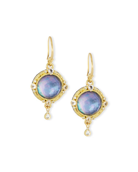 Armenta Old World Triplet Drop Earrings