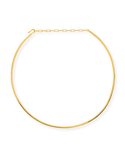 Kerry Gold Vermeil Short Choker Necklace