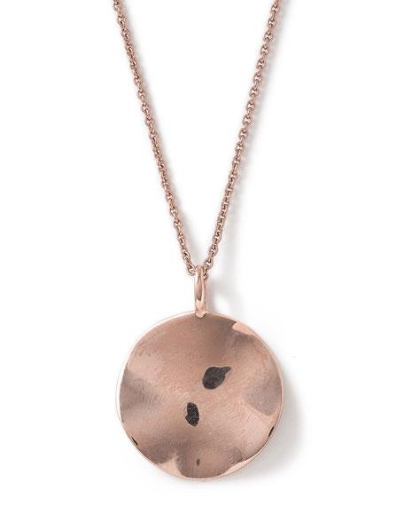 Ippolita Rose Glamazon Wavy Disc Pendant Necklace