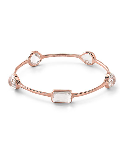 Rose Rock Candy Medium 5-Stone Oval Bangle