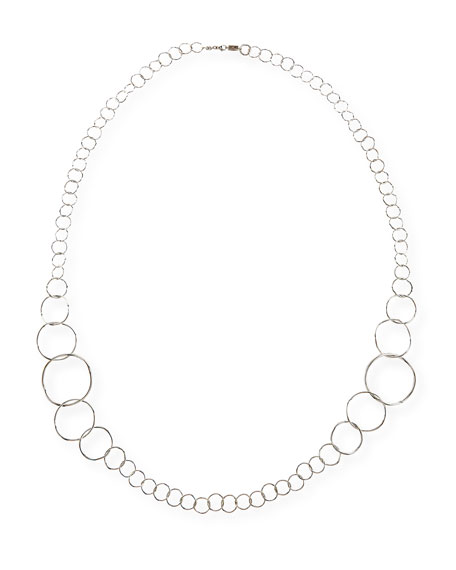 Ippolita Silver Glamazon Extra Long Link Necklace, 47.5
