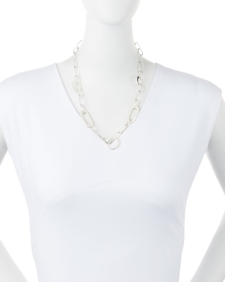 """925 Glamazon Link Necklace, 20""""L"""