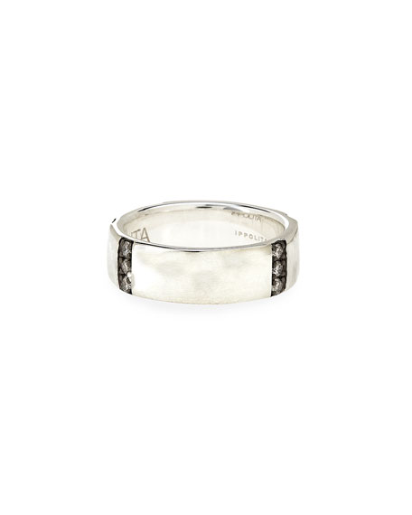 Glamazon Stardust Diamond-Bar Ring