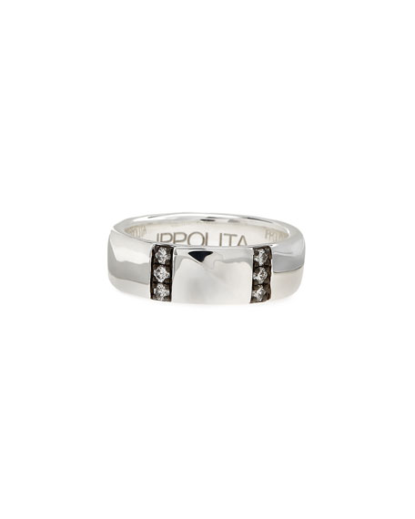 Ippolita Glamazon Stardust Diamond-Bar Ring