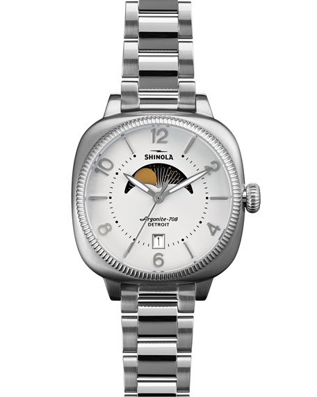 36mm Gomelsky Moon Phase Watch